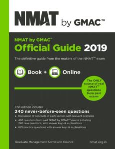 NMAT BY GMAC BOOK